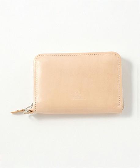 BRITISH MADE ブリティッシュメイドGLENROYAL グレンロイヤルナチュラルブライドルレザー 財布 ジャバラ式財布