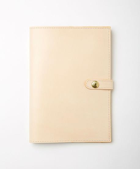BRITISH MADE ブリティッシュメイドGLENROYAL グレンロイヤルナチュラルブライドルレザー 手帳カバー B6 ダイアリーカバー