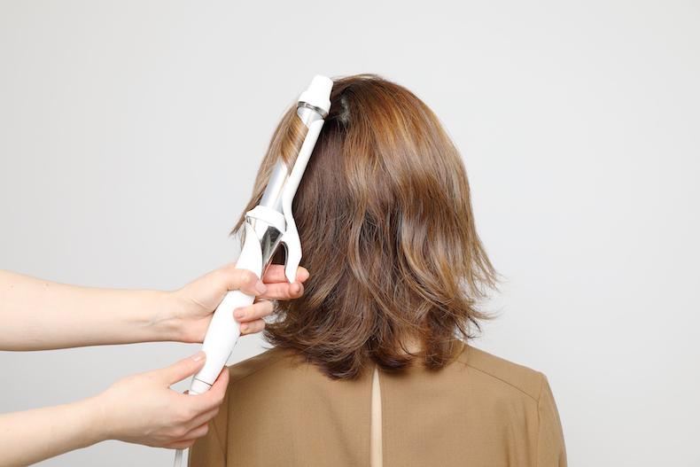 髪の巻き方,上手な巻き方,アイロン,巻き方