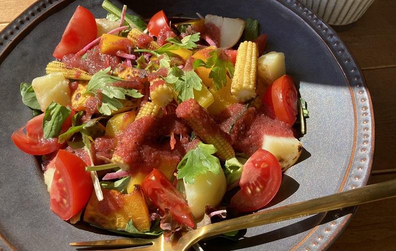 ビーツドレッシング オニオンドレッシング サラダ おすすめ レシピ 味 たかはた果樹園 ドレッシング