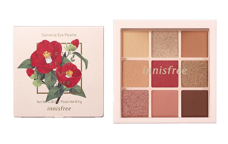 イニスフリー Camellia Eye Palette