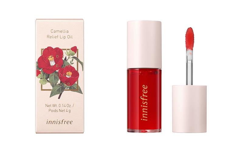 イニスフリー|Camellia Relief Lip Oil