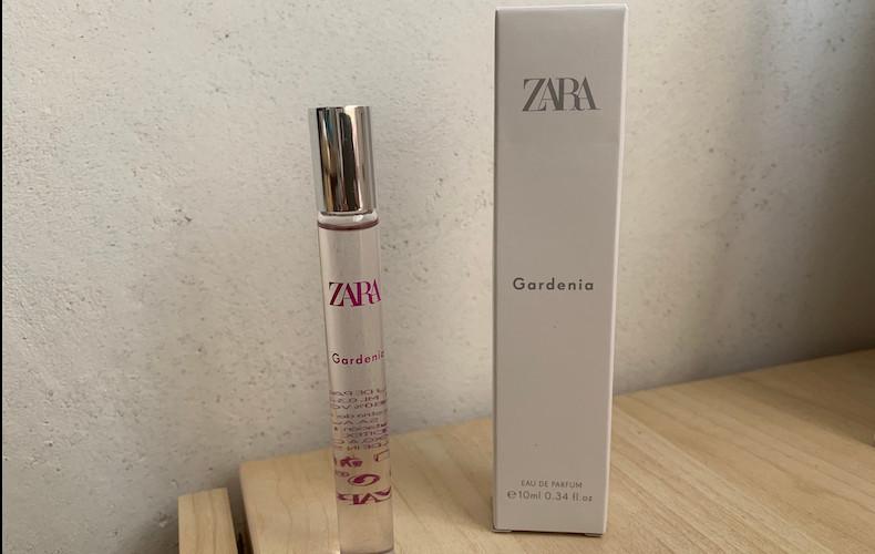 プチプラでコスパよし、ZARAのミニサイズの香水