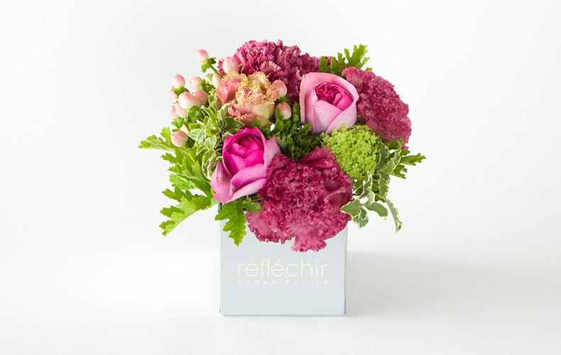 réfléchir KYOKO FUJITA レフレシールキョウコフジタ ギフトフラワーボックス 母の日 フラワーギフト 花
