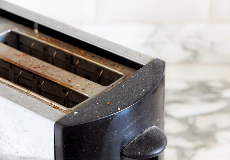 トースター 掃除 方法