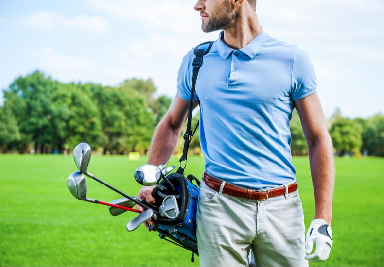 男性 ゴルフ ポロシャツ