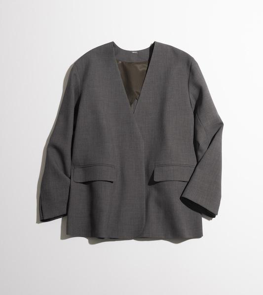 「ミラ オーウェン」のノーカラージャケット