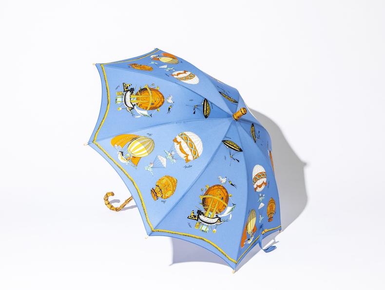 〝THIRD MAGAZINE×WHITE ROSE〟のスタイリッシュなビニール傘