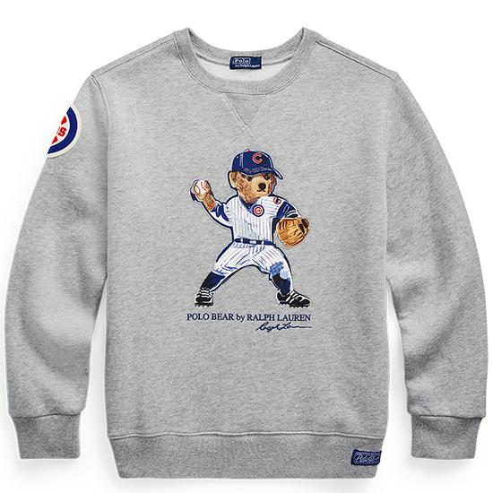 ラルフ ローレン メジャーリーグ ベースボール MLB ポロベア キッズ 子ども プルオーバー スウェット