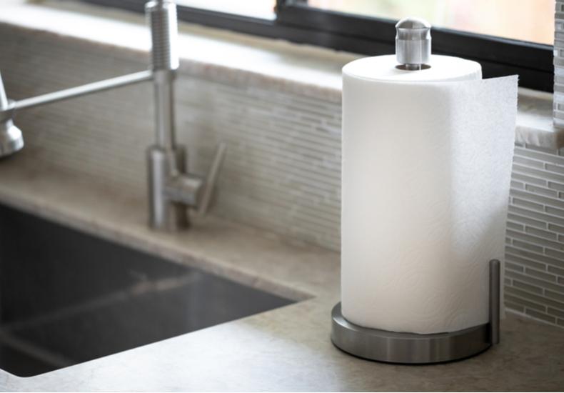 キッチンペーパーホルダー おすすめ デザイン性 おしゃれ かわいい  スタンドタイプ