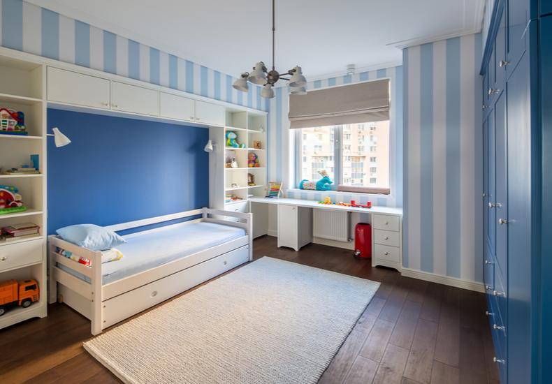 子ども部屋 収納 小学生 部屋づくり アイディア  ポイント 片付け 整理整頓