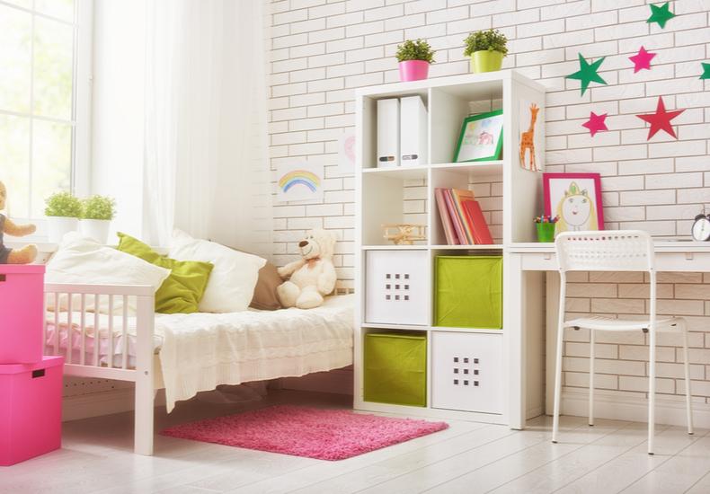 子ども部屋 収納 棚 ラック アイディア