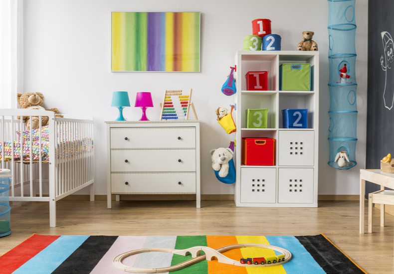 子ども部屋 収納 幼児 未就学児 アイディア ポイント