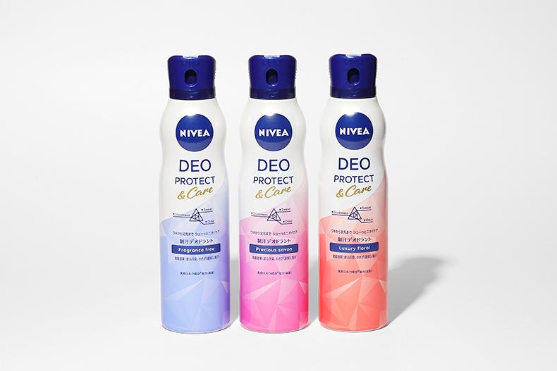 制汗剤 デオドラント スプレー ニベア デオプロテクト&ケア スプレー