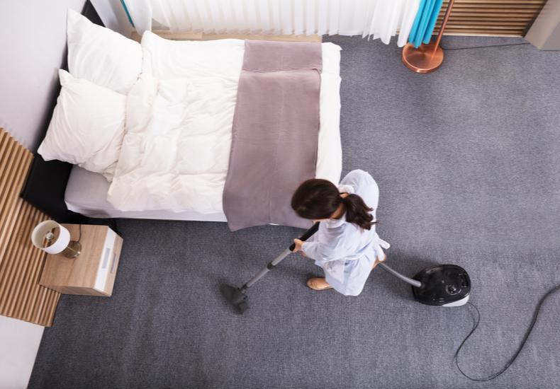 大掃除 コツ 寝室 子ども部屋 カーペット クローゼット