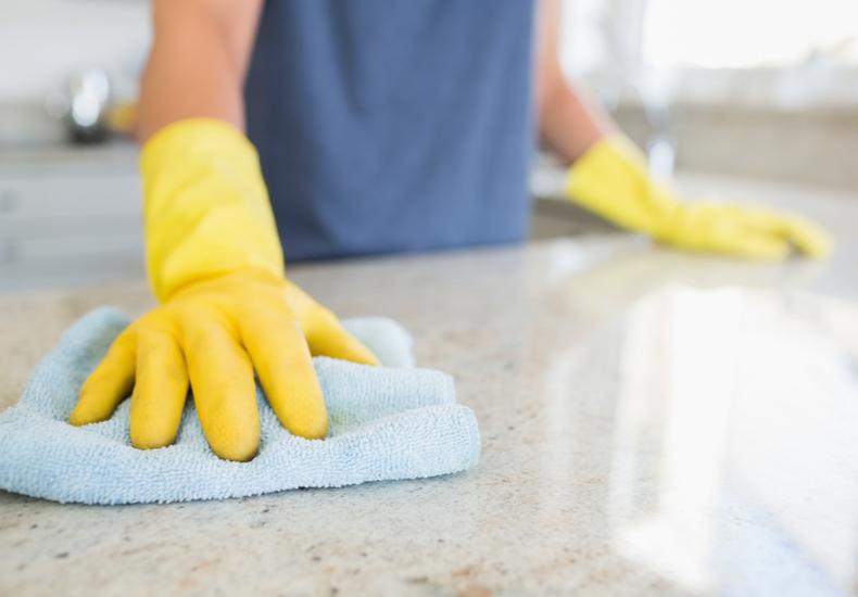 キッチン 掃除 道具 ゴム手袋 スポンジ クロス