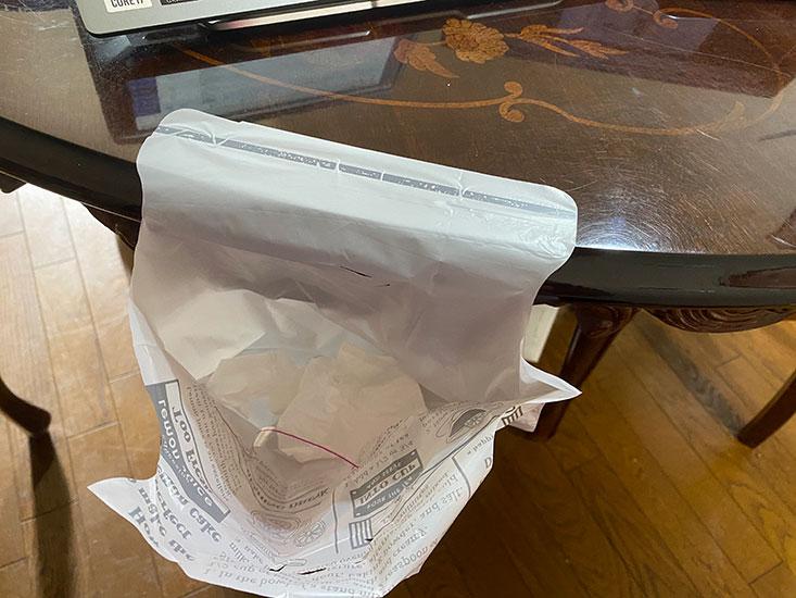 3COINS ペタッとゴミ袋