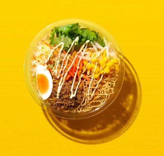 ファミリーマート ファミマ 期間限定 カレー祭り カレー味 コンビニ パリパリ麺サラダ キーマカレーサラダ