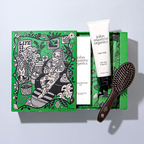 ジョンマスターオーガニック john masters organics green beauty community collaboration Chocomoo 限定コラボボックス