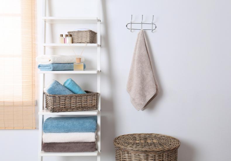 洗濯ネット 収納 おすすめ 場所 洗濯機 横 ラック