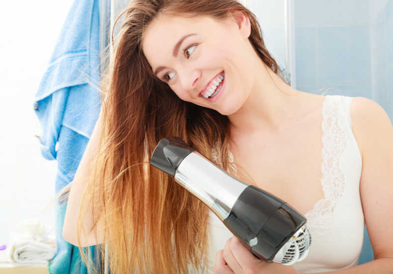髪の毛 早く乾かす 方法 注意点 ポイント