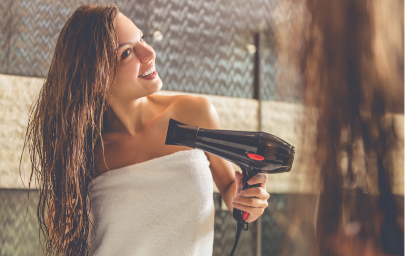 髪の毛 早く乾かす 方法 ドライヤー
