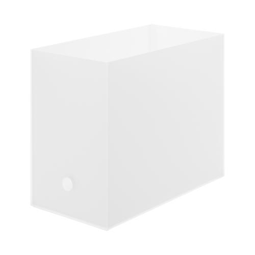 無印 収納 人気 優秀 おすすめ 理由 ポリプロピレンファイルボックス A4