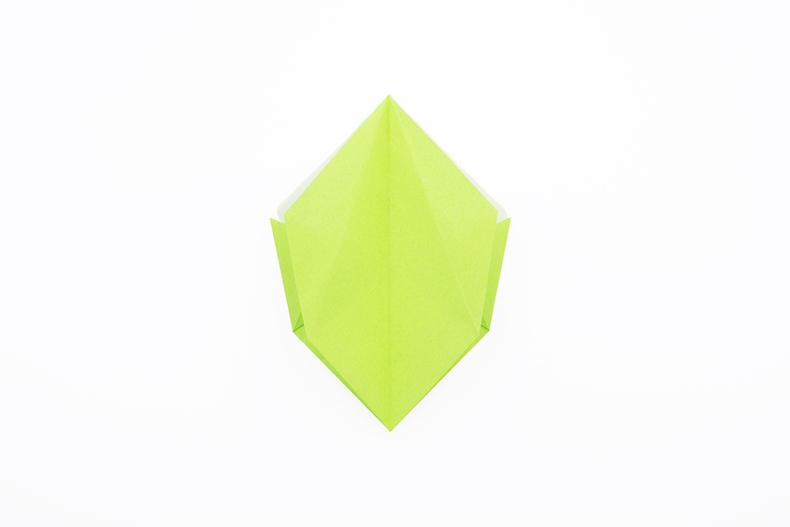 折り紙 指輪 折り方 箱リング 指輪 つのこう箱