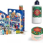 ロクシタン クリスマスコフレ 2021 フルーティフィグシア シャワークリーム スノーシア ボディクリーム ハンドクリーム リップバーム アドベントカレンダー2021