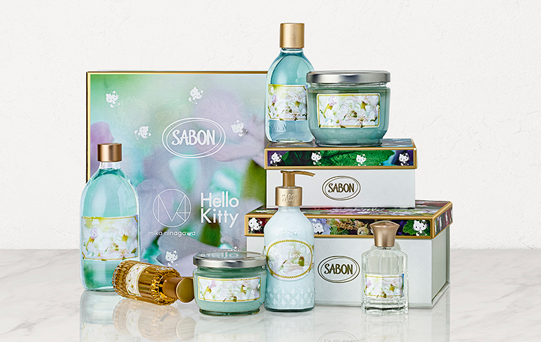 SABON× M / mika ninagawa × Hello KittyFLORAL BLOOMING Limited Collection 蜷川実花 ハローキティ コラボ
