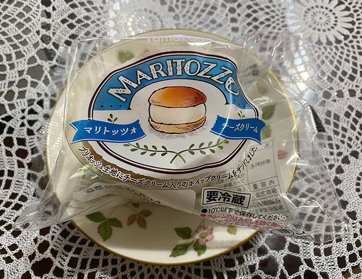 山崎製パン マリトッツォ