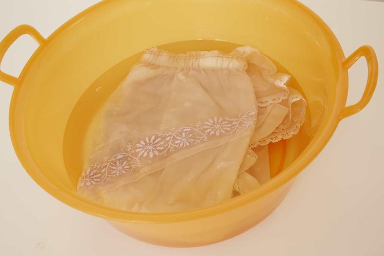 枕カバーの洗い方 部屋着の洗い方 夏のパジャマ ニオイが気になる 洗濯物が臭い