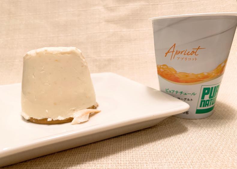 混ぜるだけ ヨーグルトチーズケーキ ひんやりスイーツ ヨーグルトレシピ ヨーグルトアレンジ 簡単スイーツレシピ