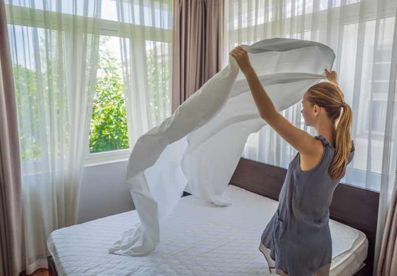 ベッドパッド 人気 おすすめ 使い方 お手入れ 順番 洗濯