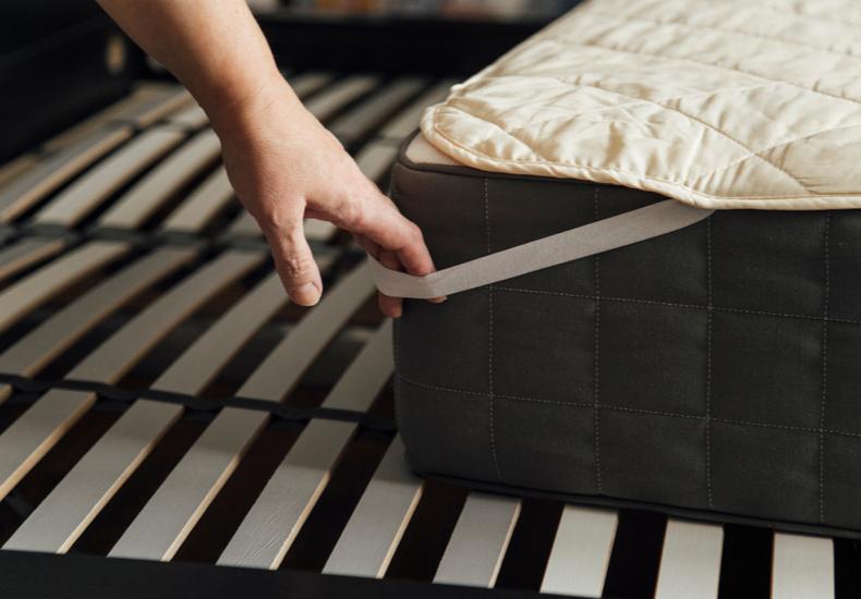 ベッドパッド 人気 おすすめ 選び方 ポイント 素材 重さ 中綿
