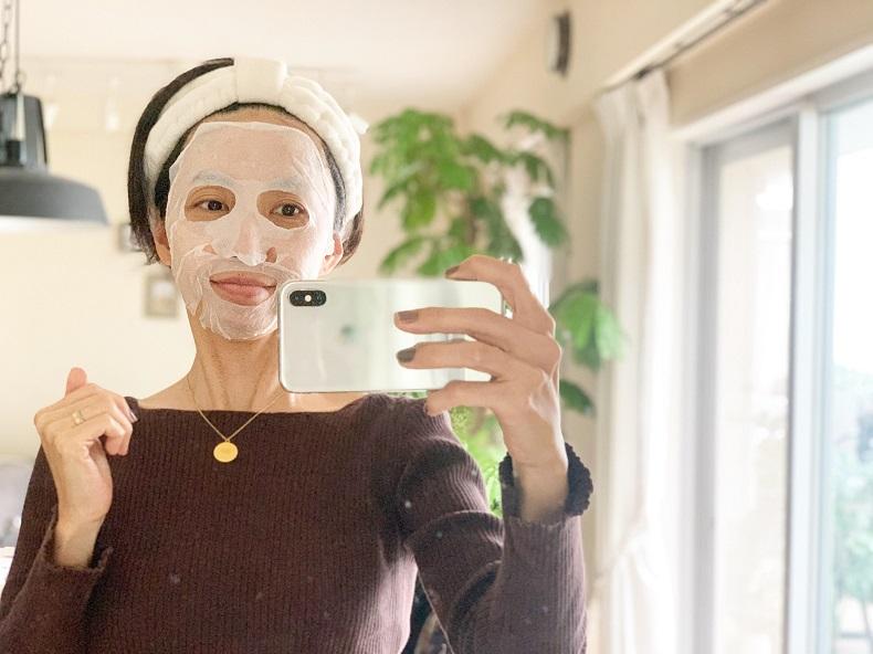 ダイソー 圧縮フェイスマスク