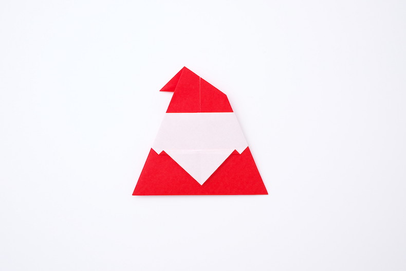 サンタ 折り紙 折り方 簡単 クリスマス 幼児