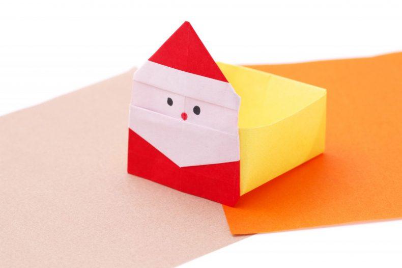 サンタ 折り紙 折り方 簡単 クリスマス 幼児 アレンジ