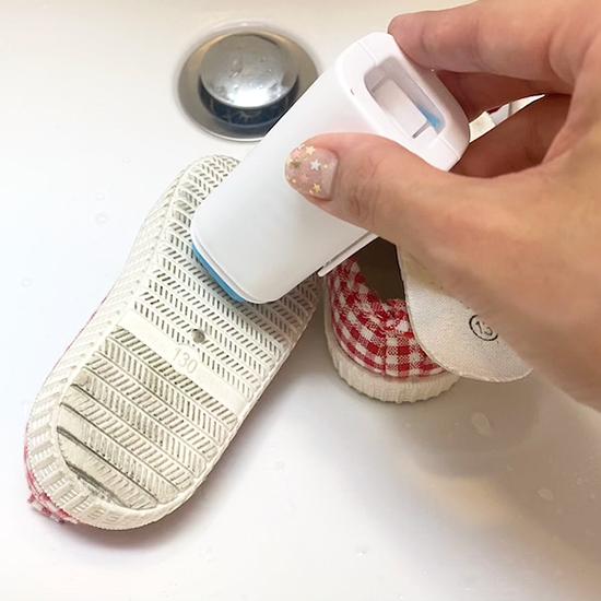 セリア ブラシ付き石鹸