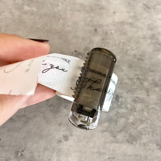 セリア マスキングテープカッター クリップ式