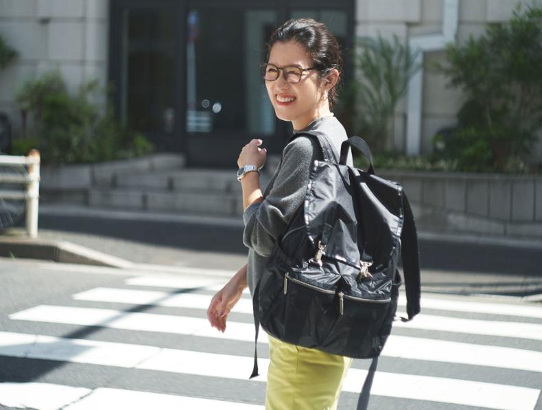 レスポ 大草直子 スタイリストコラボ レスポコラボ レスポのエッセンシャル 軽いバッグ 軽いリュック Modern Flap Backpack