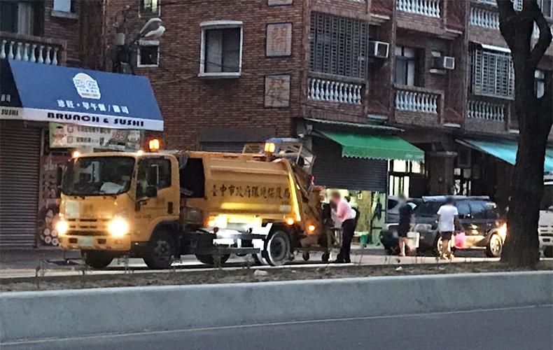 台湾 ゴミ捨て事情